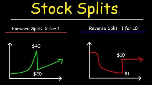 Где узнать о предстоящем сплите акций?